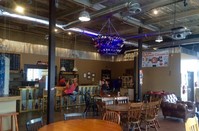 JRH Brewing interior