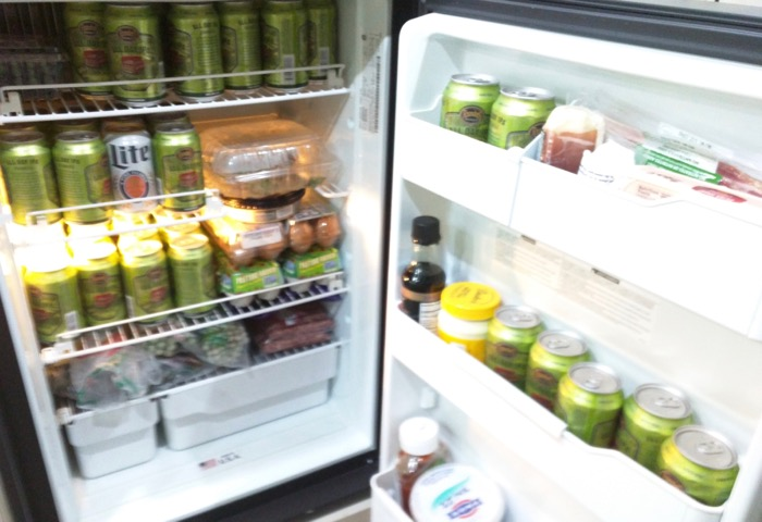 lockn stocked fridge