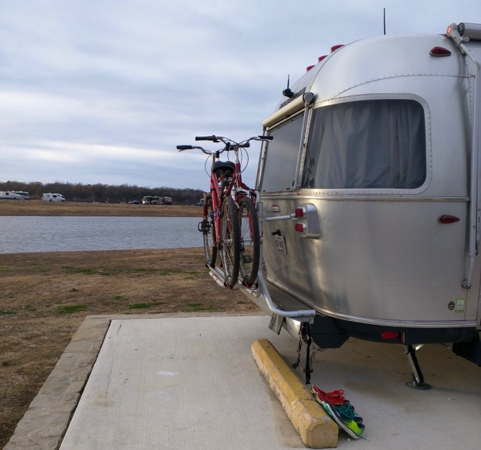 airstream at grapevine campground