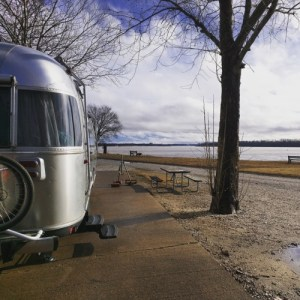 airstream at tom sawyer's campground memphis