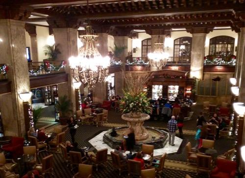 peabody hotel lobby