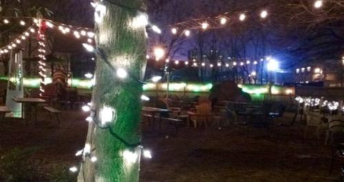 outdoors at loflin yard