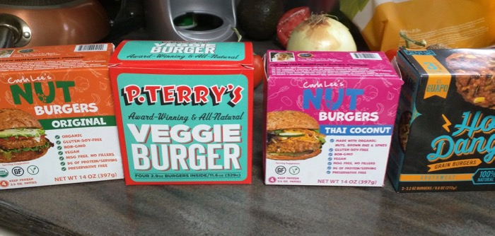 veggie burgers from whole foods