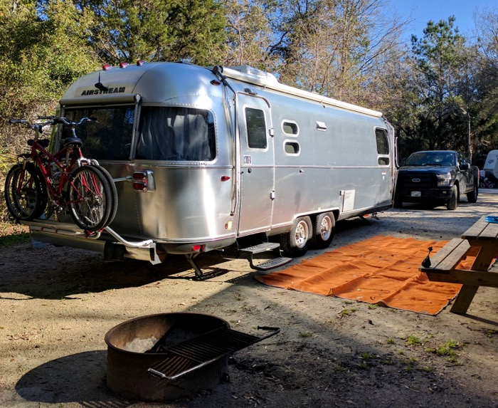 airstream at james island campground