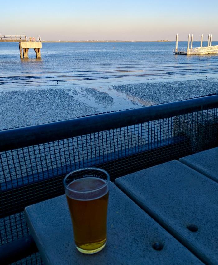 waterfront beer at fleet landing charleston