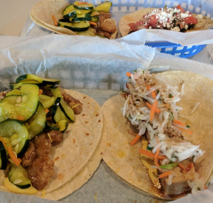 white duck tacos