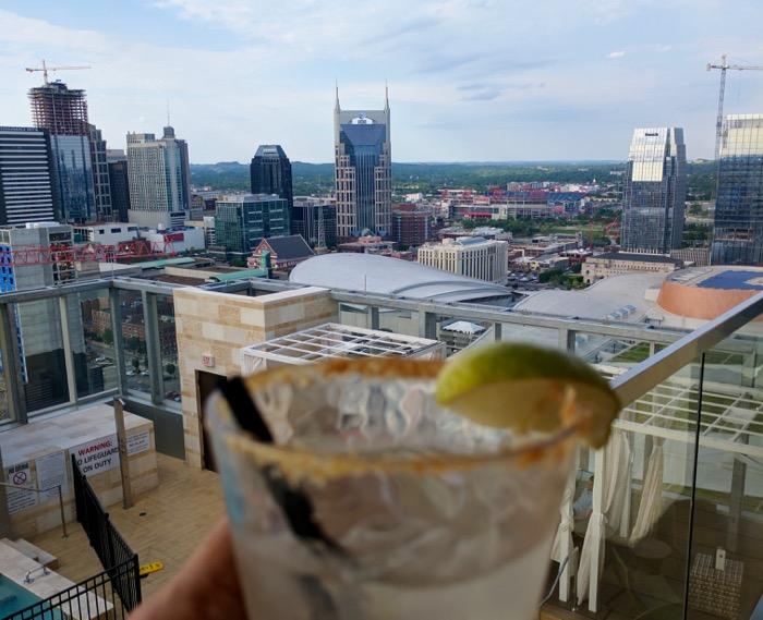 Nashville skyline from L27