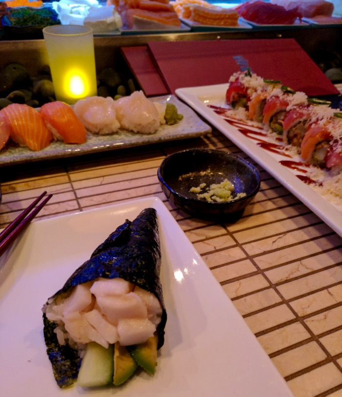 sushi at Virago