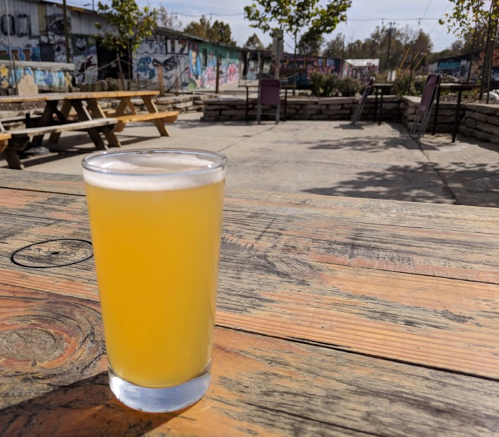 Wedge Brewing graffiti park location