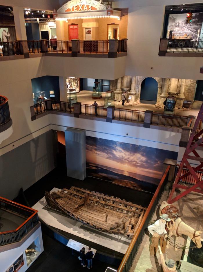 history of texas museum austin