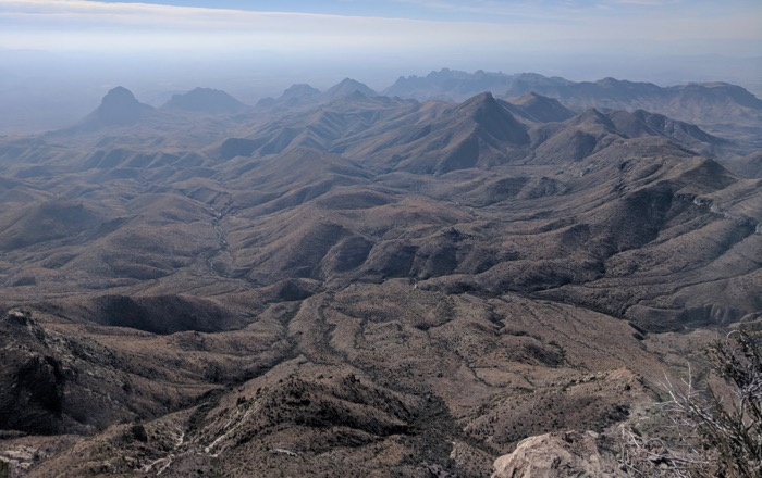 south rim trail big bend