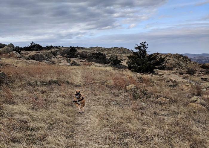hiking in Wichita Mountains