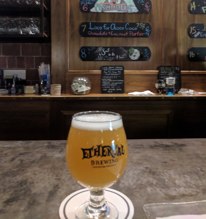 ethereal brewing lexington