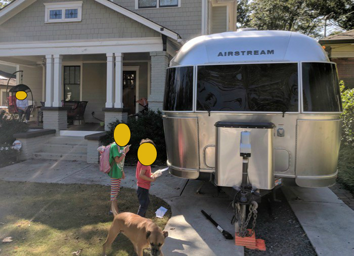 airstream camping in oakhurst