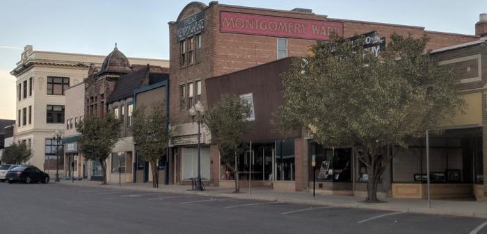 downtown Rock Springs