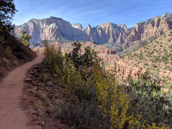 the watchman hike zion