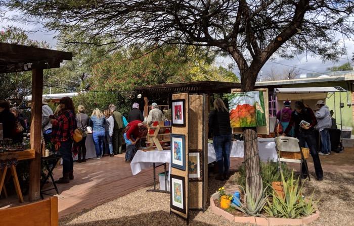 Fourth Schmourth craft market in Tucson