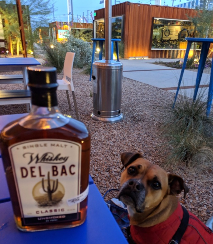 del bac whiskey in the MSA Annex