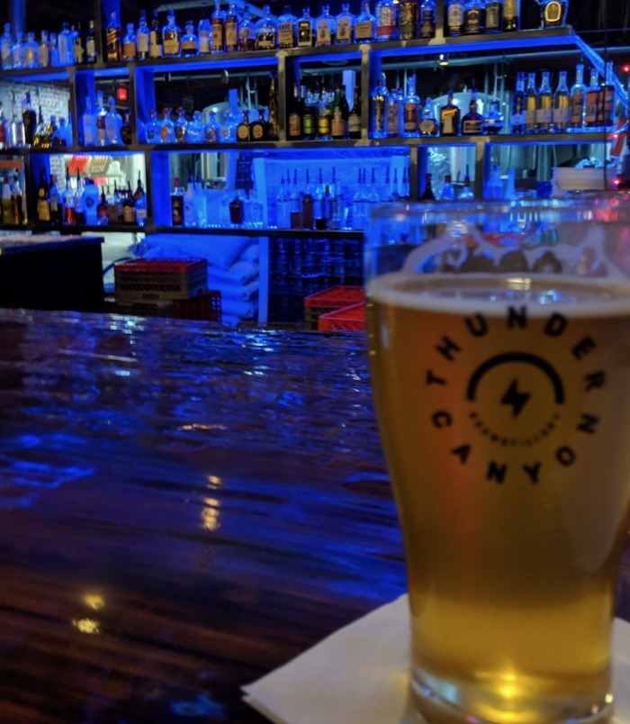 Thunder Canyon brewing in Tucson