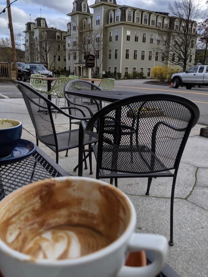 choco-latte patio bar harbor