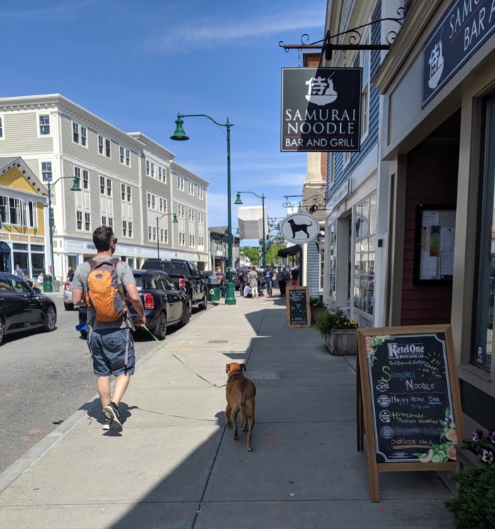 downtown mystic