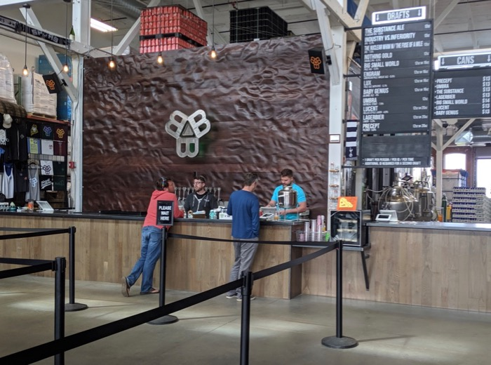Bissell Brothers taproom in Portland