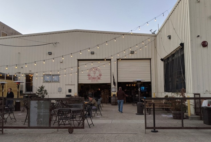 second line brewing patio new orleans