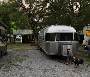 our campsite in Bozeman