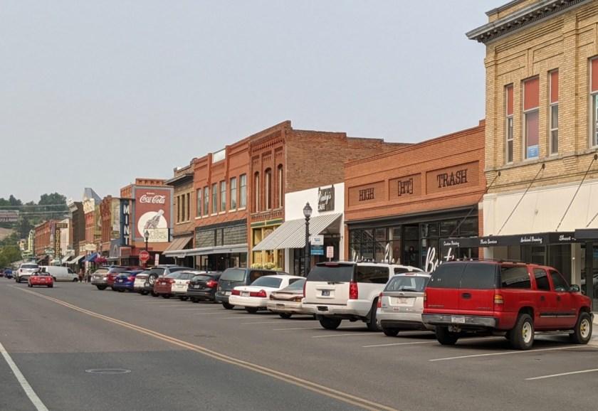 Livingston, MT street scene