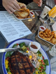 food and beer at matchwood brewing