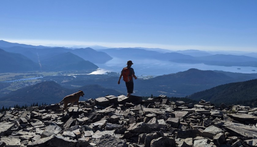 rock scramble near scotchmans peak