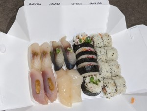 sushi from Yuki Yama in Park City