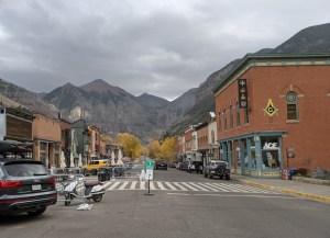Telluride streetscape
