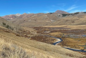 hiking Brush Creek in Crested Butte