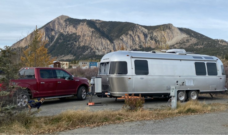 the Airstream at Crested Butte RV Park