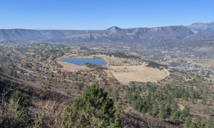 view from Skyline Trail in Durango