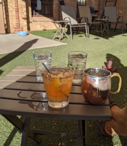 cocktails at Durango Craft Spirits
