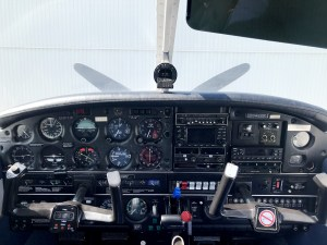 avionics in cockpit