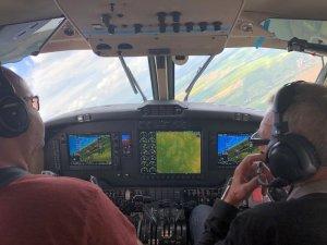 Beechcraft Super King Air 200 Glass Cockpit Testflight 2