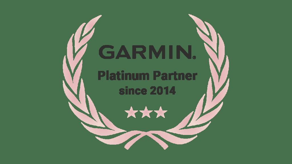 Garmin Platinum badge