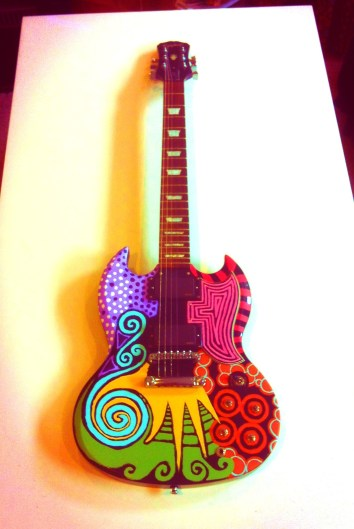 Colored Guitar