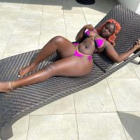 Blacc India The Bootylicious African Woman Has Big Dark Bums for your Fetish Fantasy