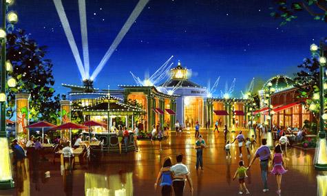Konzeptzeichnung der Hyperion Wharf