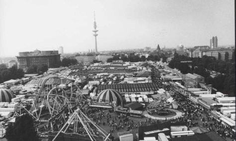 Der Blick aus dem Riesenrad war schon in den 180er Jahren beeindruckend