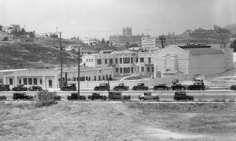 So sah der nun deutlich vergrößerte Firmensitz Disneys in der Hyperion Avenue kurz nach seiner Eröffnung aus.