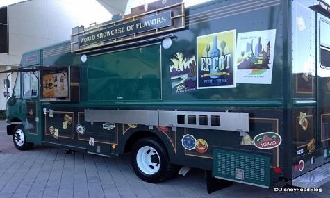 das ganze Jahr Food and Wine Festival - der EPCOT FoodTruck machts möglich