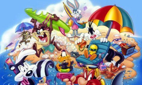 Auf zum Strand mit den Looney Tunes und weiteren Warner-Charakteren!