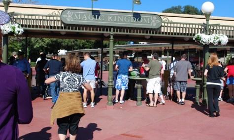 Am Eingang des Magic Kingdoms könnte es für Tagesbesucher eine unangenehme Überraschung geben