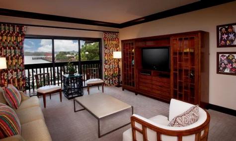 Blick in eine Suite