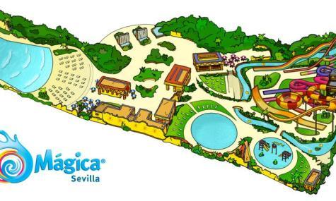 """...und bunte Animation: """"Isla Mágica"""" (anklicken zum vergrößern)"""
